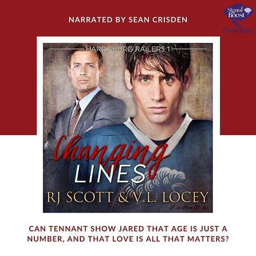 RJ Scott & V.L. Locey - Changing Lines Audio instaPromo