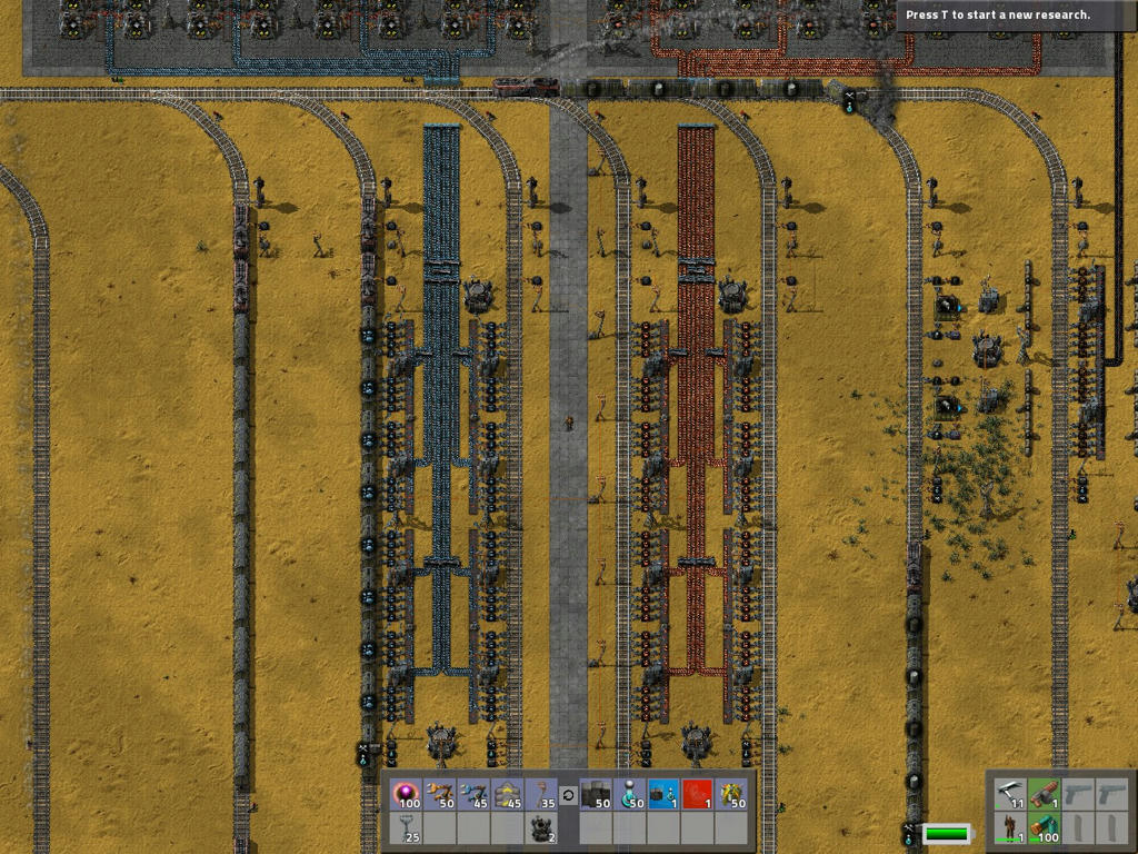 factorio how to make steel
