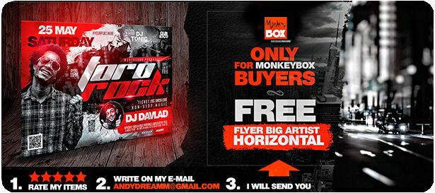 DJ Tour Dates Flyer Template - 28
