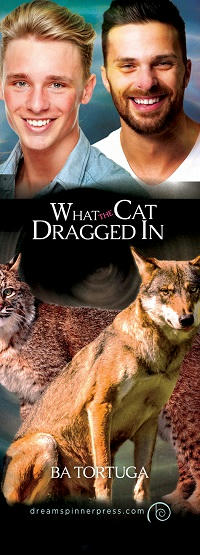 B.A. Tortuga - What the Cat Dragged In bookmark 1