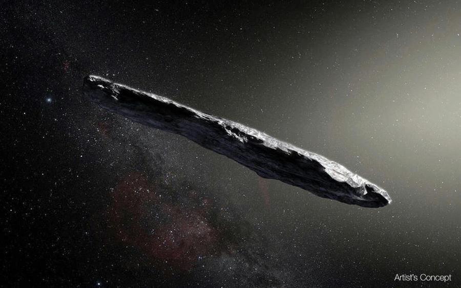 Científicos de Harvard creen que asteroide Oumuamua es una sonda alienígena