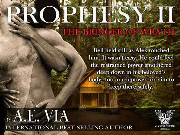 A.E. Via - Prophesy Book #2 The Bringer of Wrath Promo 4