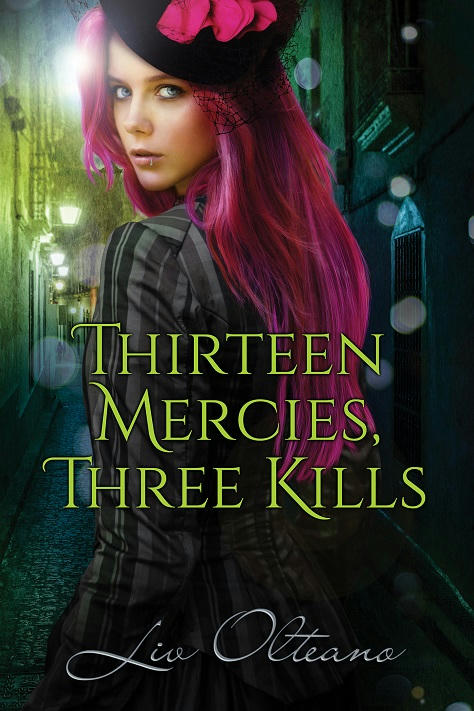 Liv Olteano - Thirteen Mercies, Three Kills Cover