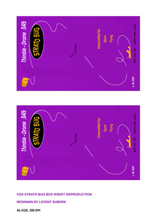 Cox Strato Bug Insert Reproduction Niholc2xpvp85c86g