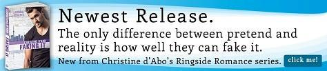 Christine d'Abo - Faking It Riptide Banner