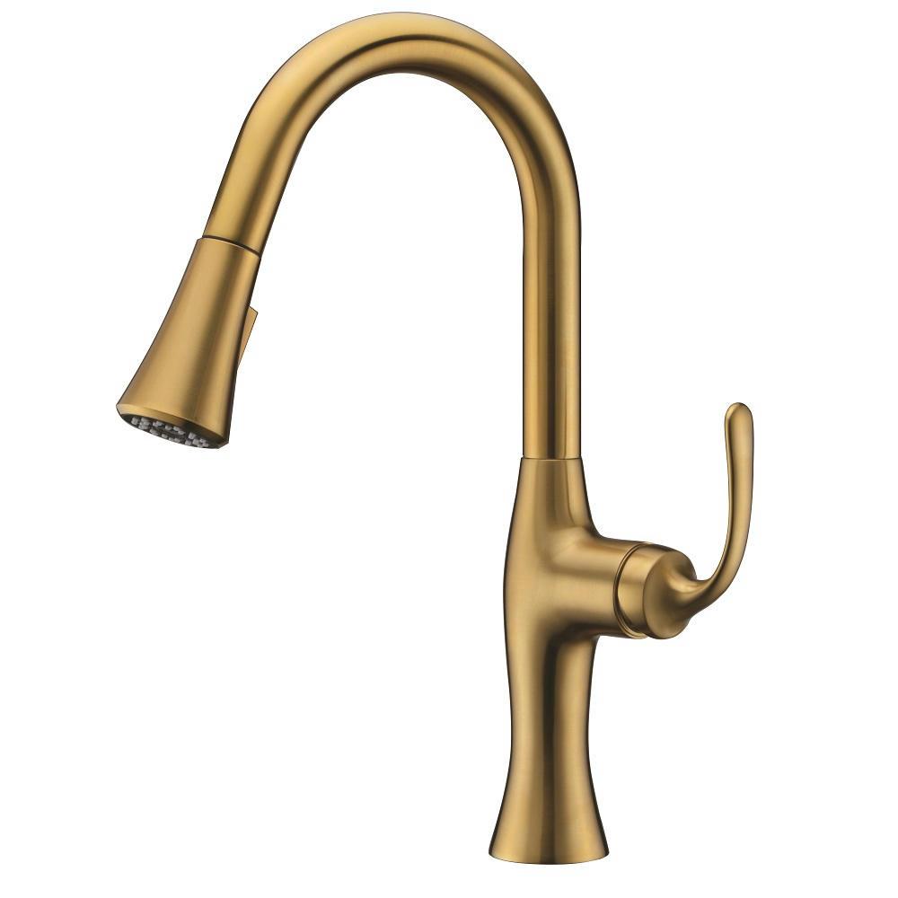 AB50 3778MAG Kitchen Faucet, Matte Gold