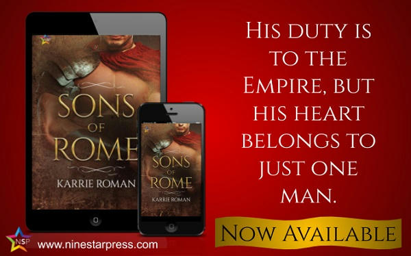 Karrie Roman - Sons of Rome Now Available