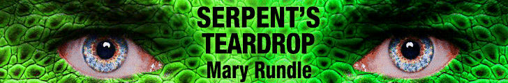 Mary Rundle - Serpent's Teardrop BANNER