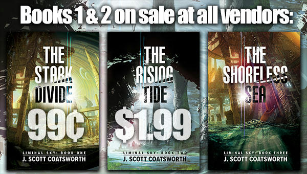 J. Scott Coatsworth - Liminal Sky Series Sale Banner