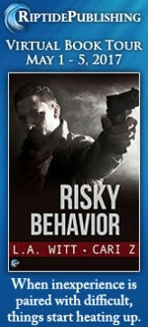 Cari Z. & L.A. Witt - Risky Behavior Badge