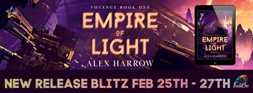 Alex Harrow - Empire of Light RB Banner