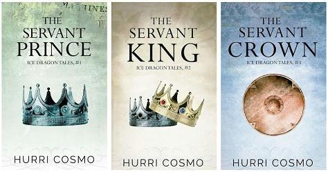 Hurri Cosmo - Ice Dragon Tales book banner