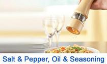 Salt & Pepper, Oil & Seasoning