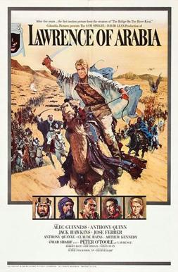 Cartel-promocional-de-Lawrence-de-Arabia