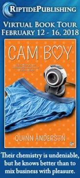 Quinn Anderson - Cam Boy TourBadge