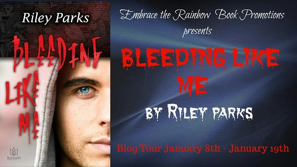 Riley Parks - Bleeding Like Me banner