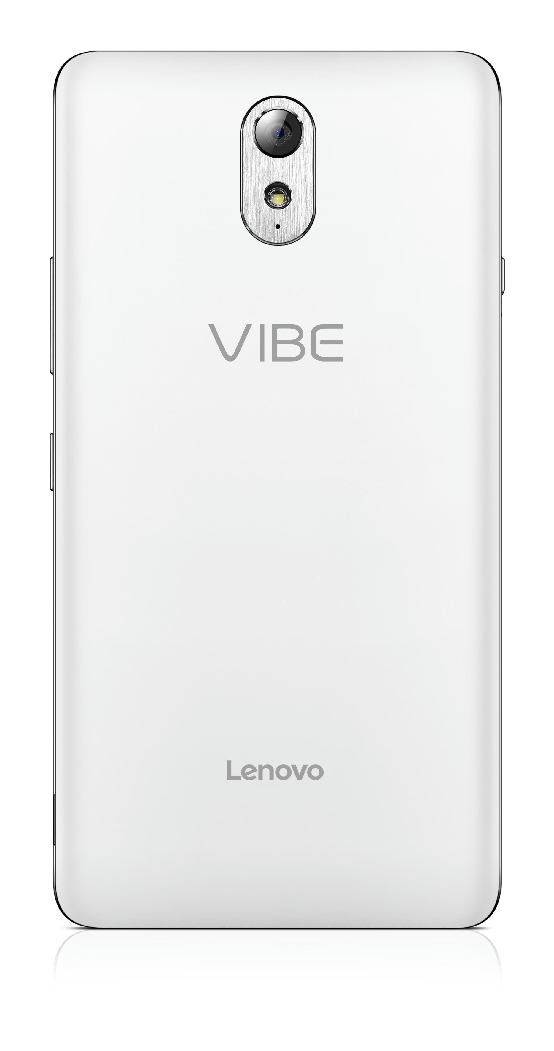 Lenovo Vibe P1M White Back