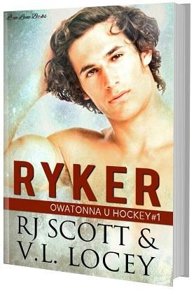 R.J. Scott & V.L. Locey - Ryker paperback Cover