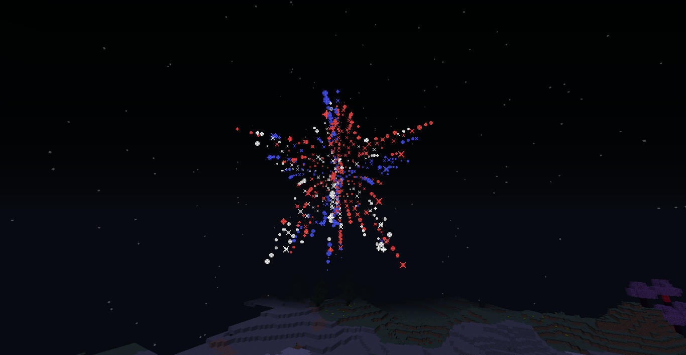 Fireworks in action!