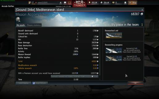 War thunder matchmaking formula