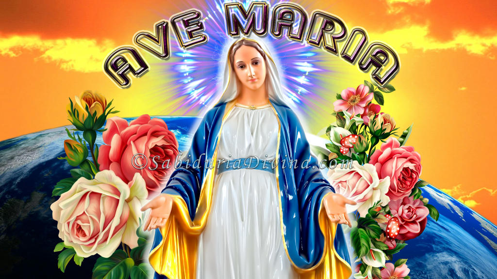 our lady virgen maria hermosa