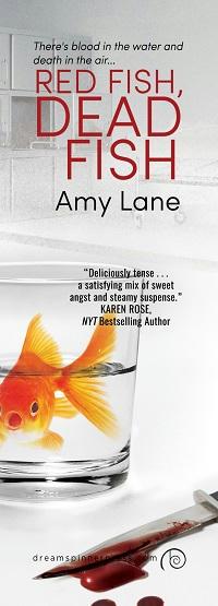 Amy Lane - Red Fish, Dead Fish Bookmark