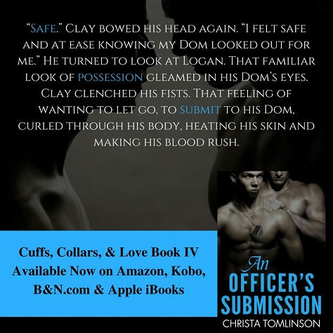 Christa Tomlinson - An Officer's Submission Teaser 1