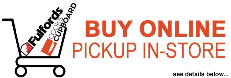 Buy Online, Pickup In Store