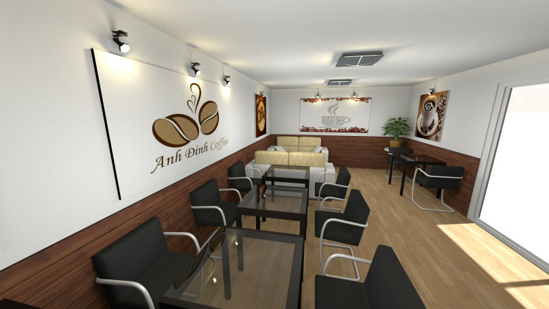 Hi Everyone This Is My Design About A Coffee Shop