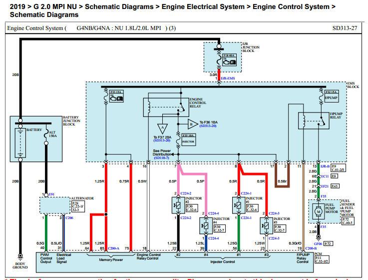 2002 Kium Sportage Engine Diagram Fuel System