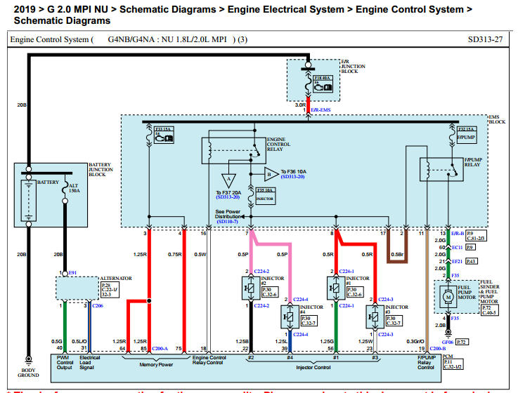 Kia Cerato 2019 Wiring Diagram - Mhh Auto