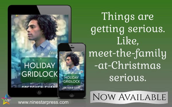 Gretchen Evans - Holiday Gridlock Now Available
