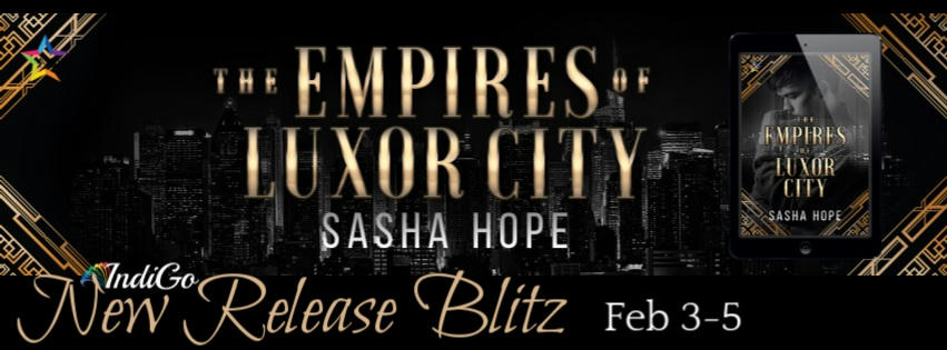 Sasha Hope - The Empires of Luxor City RB Banner