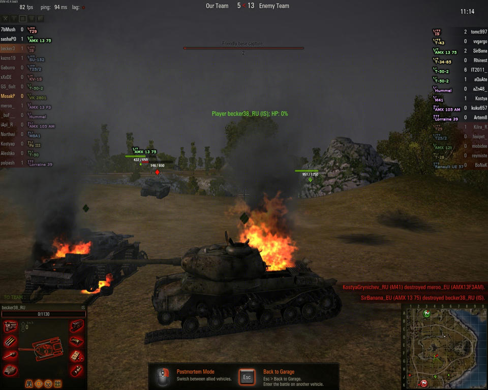 world of tanks battle efficiency mod