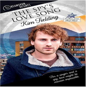 Kim Fielding - The Spy's Love Song Square