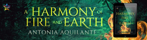 Antonia Aquilante - A Harmony of Fire and Earth NineStar Banner