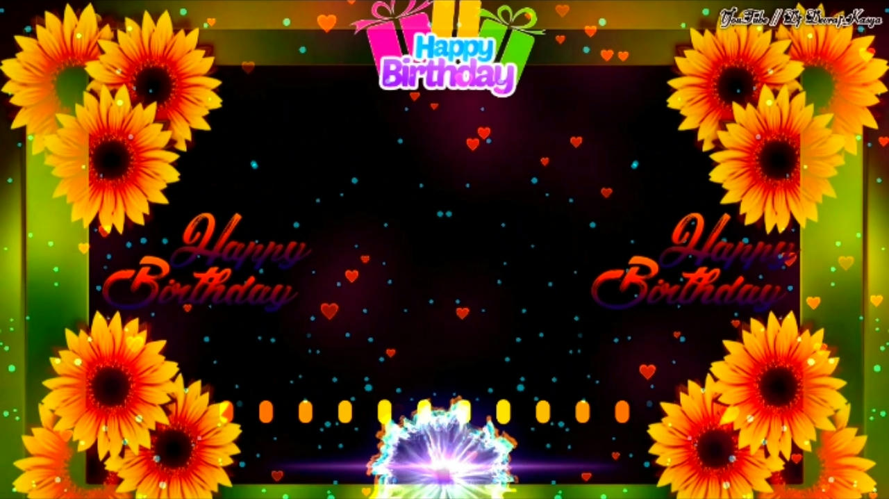 Happy  Birthday Avee Player Template Download
