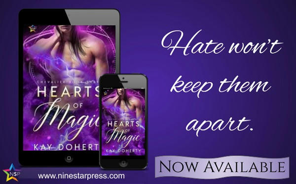 Kay Doherty - Hearts of Magic Now Available