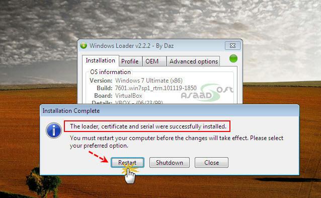loader windows 7 integrale startimes