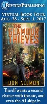 Don Allmon - Glamour Thieves TourBadge