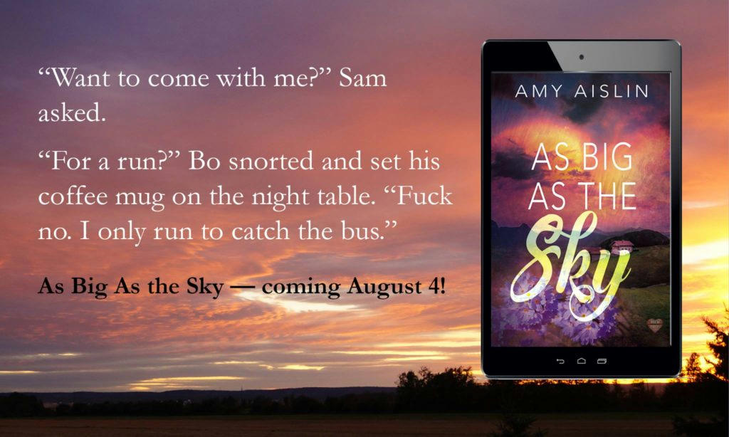 Amy Aislin - As Big As The Sky Teaser