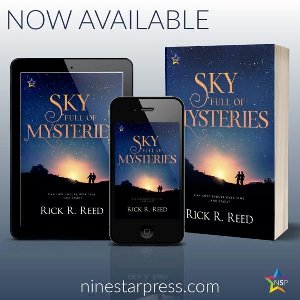 Rick R. Reed - Sky Full of Mysteries Now Available 123