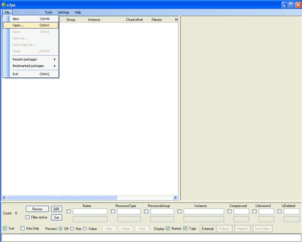 [Débutant] [Blender 2.4 à 2.49] Créer et intégrer son premier mesh de A à Z : 7-Import d'un objet du jeu dans Blender: s3oc, s3pe, s3objtool, et en option Sim3pack extractor installation et utilisation. Rbbjes012zj3hr86g