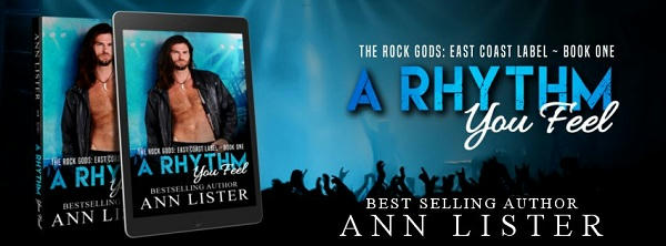 Ann Lister - A Rhythm You Feel Banner