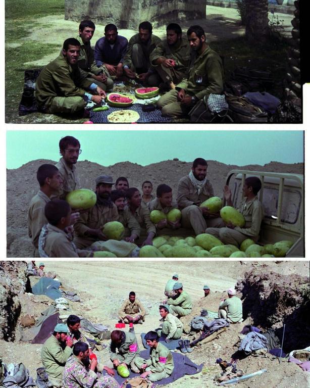 یلدا در جبهه های دفاع مقدس