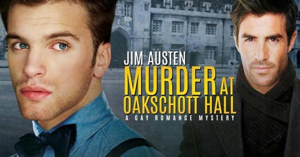 Jim Austen - Murder At Oakschott Hall Banner 1