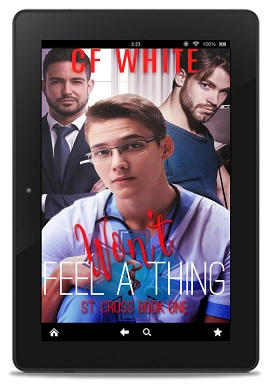 C.F. White - Won't Feel A Thing 3d cover
