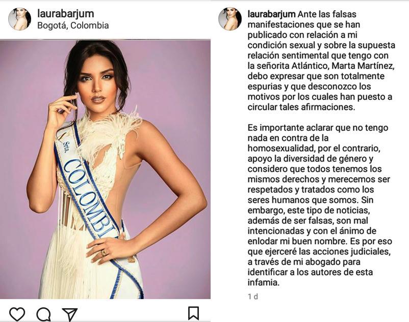 Polémica en Instagram por comunicado de Laura González sobre su orientación sexual
