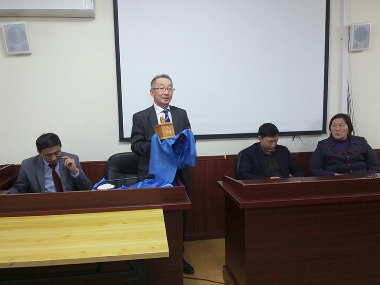 Говь-Алтай аймгийн  Эрүү, иргэний хэргийн давж заалдах шатны шүүхийн Ерөнхий шүүгчээр Ш.Баттогтох томилогдлоо.