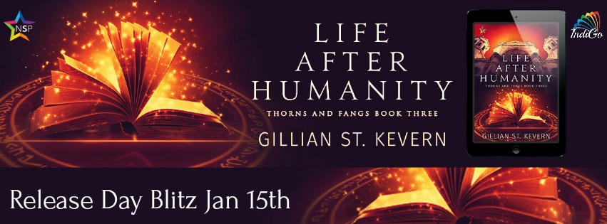 Gillian St. Kevern - Life After Humanity Tour Banner